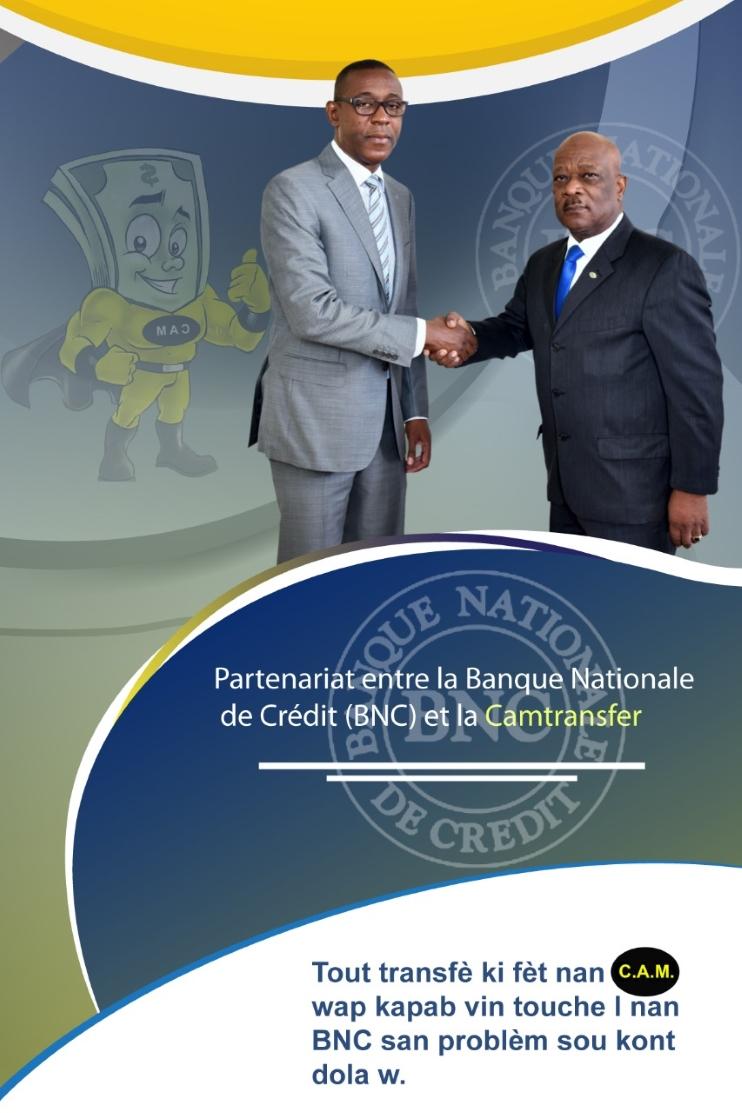 Partenariat BNC- CAM Transfert
